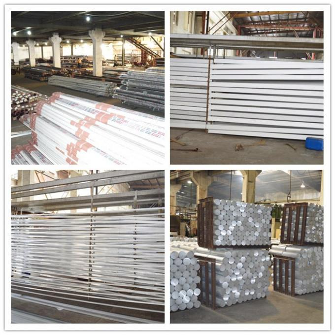 Silver Industrial T Slot Aluminum Extrusion Stock Shapes Anodised For Assembly Line