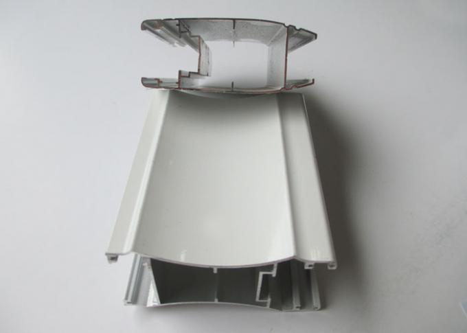 White Aluminium Sliding Door Profiles