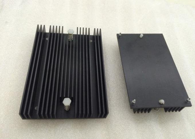 Industrial LED Aluminium Heat Sink Profiles Colourful High Efficiency Enclosure