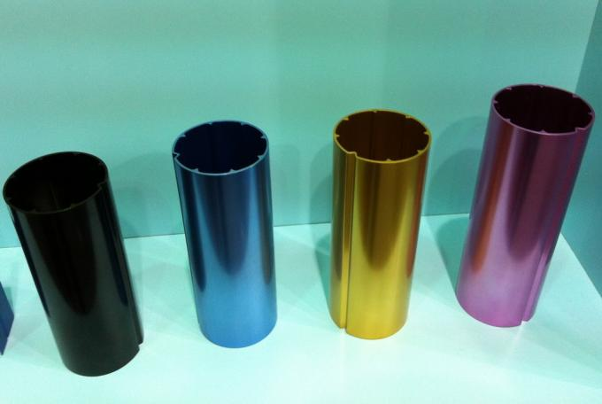 Colored T5 Round 6061 Aluminum Tubing , Extruded Aluminum Pipe For Chair Legs