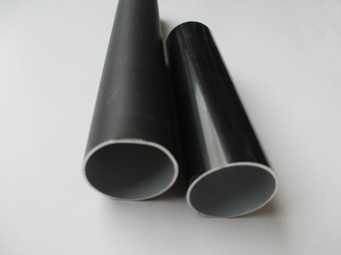 OEM Alloy Aluminium Round Tube Thin Wall / Thick Wall Pipe OHSAS 18001 Certification