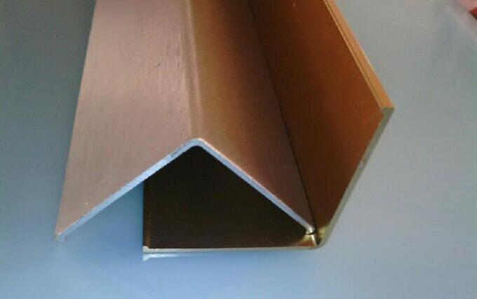 Elegant Aluminium Angle Extrusions Profiles Environment Protection 30mm X 38mm