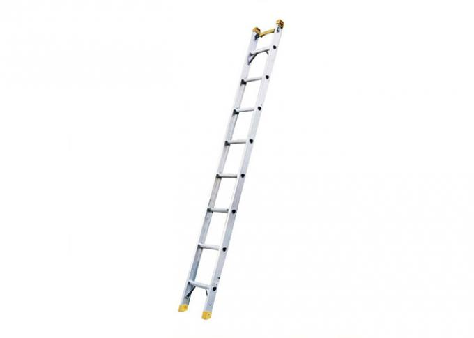 Straight Custom Extruded Aluminum Telescopic Ladders For Electric Lights Installment
