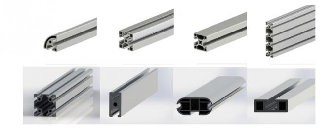 Special Industrial Aluminium Profile Used for Assembly Line Worktable