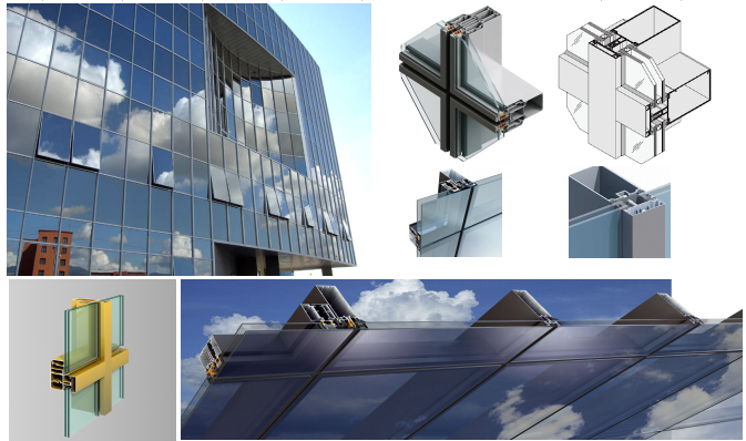 Aluminium Construction Profiles Aluminium Window Frame Profiles