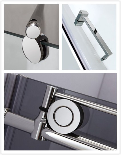 Bright Anodized Mirror Polish Aluminum Extrusion Profiles For Shower Room
