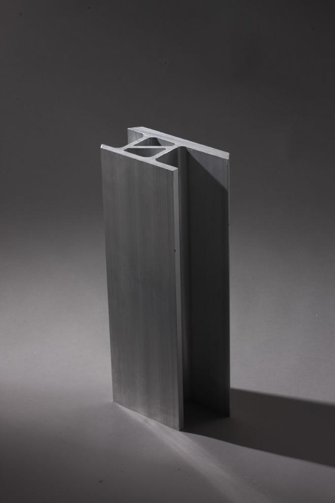 High Precision 6061 T6 Aluminum Industrial Profile for Subway / structural aluminum extrusions