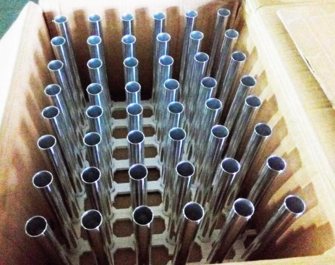 High Precision 5000 Series Aluminium Round Tube ± 0.01MM Tolerance