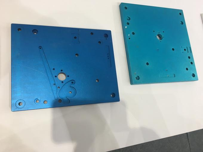 CNC Deep Processing Aluminium Enclosures with Blue Anodize Color