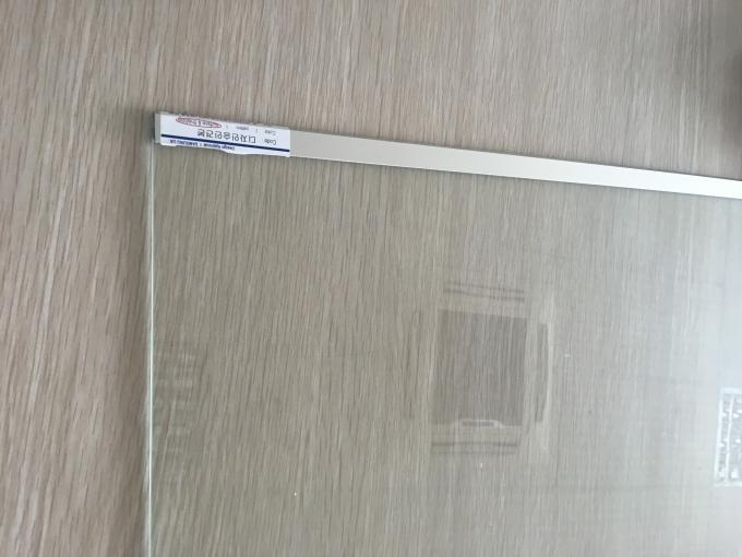 6063 T5 Extruded Aluminium Profiles Bright Polish Anodizing Finish Fridge Glass Frame