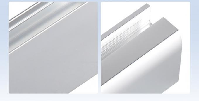 Silver Anodized Purification Aluminium Profile for Cleaning Room