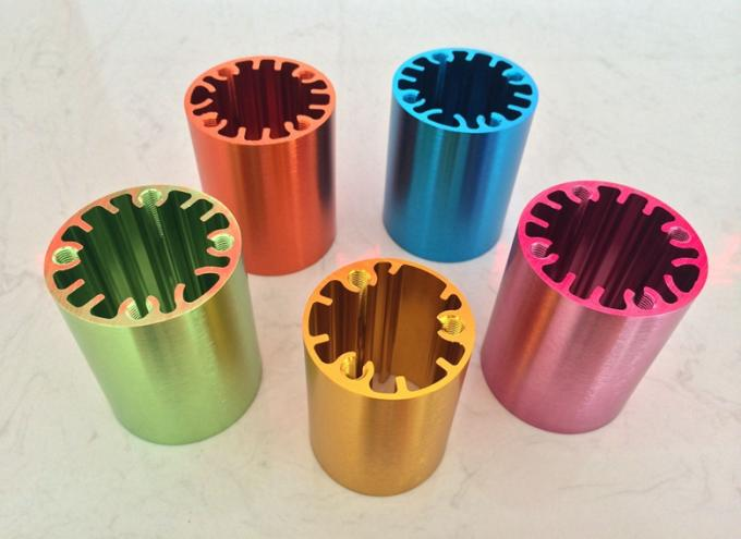 Green Brushed Anodized Enclosure Cnc Machining Parts With 4 Axis Laser Logo