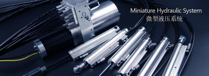 Aluminum Pneumatic Cylinder with CNC Machining for Hydraulic Cylinder and Power Unit