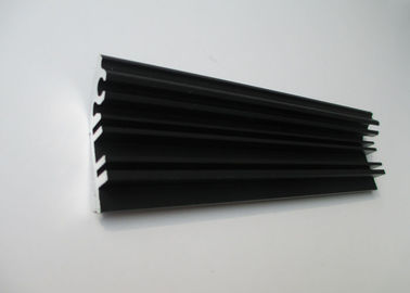 China Black Mill Finished Aluminium Extrusion Profiles For HP Lazer Printer supplier