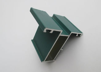 China Powder Coating Aluminium Extrusion Profiles Mill Finished For Building Material supplier