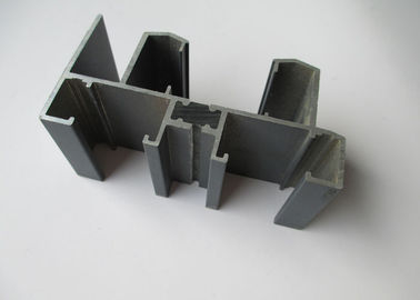 China Furniture Powder Coated Aluminium Extrusion Profiles Low Density ISO14001 Certification supplier