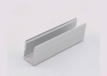 China 6063 T5 Mill Finish Extruded Aluminum Channels Preciously Cutting ISO9001 Certification supplier