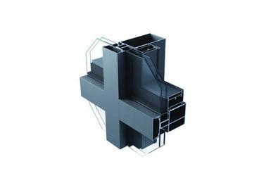 China Outdoor Aluminium Curtain Wall Profile , Aluminium Construction Profiles supplier