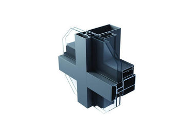 China Outdoor Aluminium Extrusion Profiles , Aluminium Construction Profiles supplier