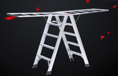 China Loft Access Hanging Ladder Custom Aluminum Extrusion Multifunction ISO9001 Certification supplier
