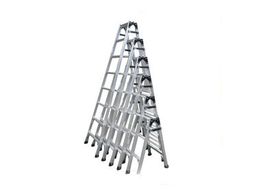 China Custom Aluminum Extrusion , Folding Aluminum Ladders For Cleaning Windows supplier