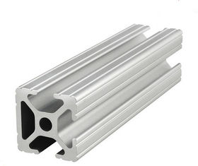 China Bars Accessories T Slot Aluminum Extrusion Industrial Profile Structural Framing System supplier