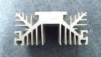 China T3 - T8 Temper 6000 Series Aluminum Extrusion Heat Sink With Forgings / Laser Cutting supplier