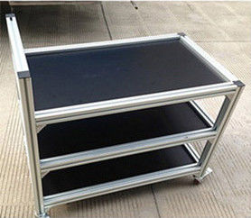 China Anodizing T Slot Aluminium Industrial Profile 2020 2040 3030 4040 4545 6060 8080 100100 supplier