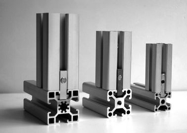 China T3 - T8 T Slot Aluminum Extrusion , 6000 Series Extruded Aluminum T Slot supplier
