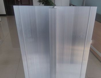 6082 T6 Aluminum Alloy Big Size Aluminum Extrusion Profiles Use For High Speed Rail