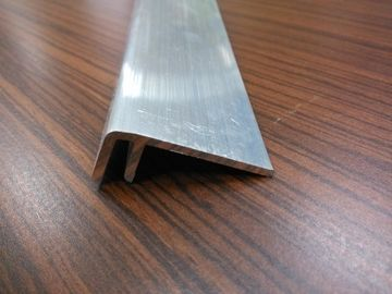 6063T5 Mill Finish Aluminium Angle Extrusions with Different Sizes Stock Mould