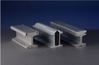 China High Precision 6061 T6 Aluminum Industrial Profile for Subway / structural aluminum extrusions supplier