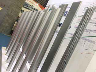 China High Density High Powder Aluminium Heat Sink Profiles From Big Extrusion Press supplier