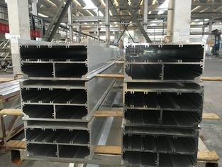 China Mill Finished 6005 T6 Aluminium Extrusion Profiles 300mm Width supplier