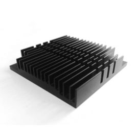 China High Performance 250mm Aluminium Heat Sink Profiles / Aluminum Heatsink Extrusion supplier
