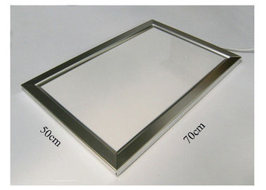 China Width 50cm * Length 70cm led aluminium profile  with Bright Silver Anodized supplier