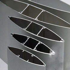 China Anodize  Aluminium Extrusion Profiles Fans , Extrusion Aluminum Airfoil Blade supplier