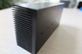 China Extrusion Aluminium Heat Sink Profiles Solar Charge Controller Enclosure supplier