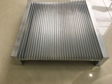 China 6061 Alloy CNC Milling Large Aluminium Heat Sink Profiles 300MM Width supplier