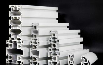 China Super Industrial Extruded Profile , T Slot Aluminum Framing Extrusion Profile 80*80 supplier