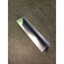 China Siver Aluminium Industrial Profile , Industrial Aluminium Profiles For Curtain Wall Cover supplier