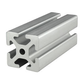 China Customized T Slot Profile Extruded Aluminum Shapes For Industrial Window And Door supplier