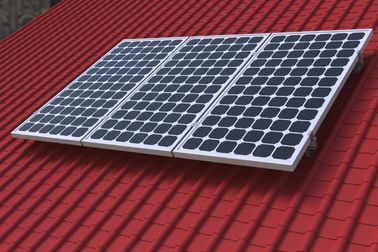 China Roof Solar Mounting Aluminium Profile System , Custom Aluminum Extrusions supplier