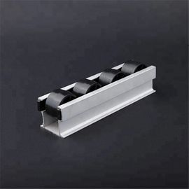 China Industrial T Slot Aluminum Extrusion Roller Track Sliding Flow Rack For Storage System supplier