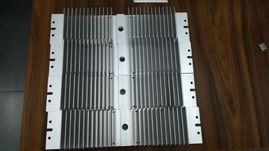 China Anodizing 6061 T6 Flat Wide Shape Aluminum Heat Sink With CNC Precision Holes supplier