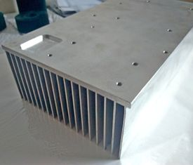 China 6061 T6 Rectangular Aluminum Heat Sink Extrusion For CNC Equipment Use supplier