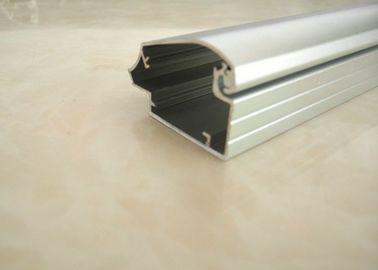 China Silver Custom Aluminum Extrusions Solar Frame For Fhotovoltaic New Energy supplier