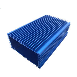 Blue Aluminum Extrusion Enclosure Electronic Enclosure for Project