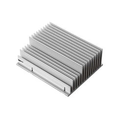 Electric 50w Aluminium Led Profiles Industrial Use , Extruded Heat Sink Profiles