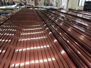 China Electrophoresis Finishing Aluminum Door Frames For Hanging Sliding Door factory
